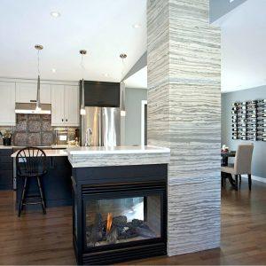 xstone fireplace